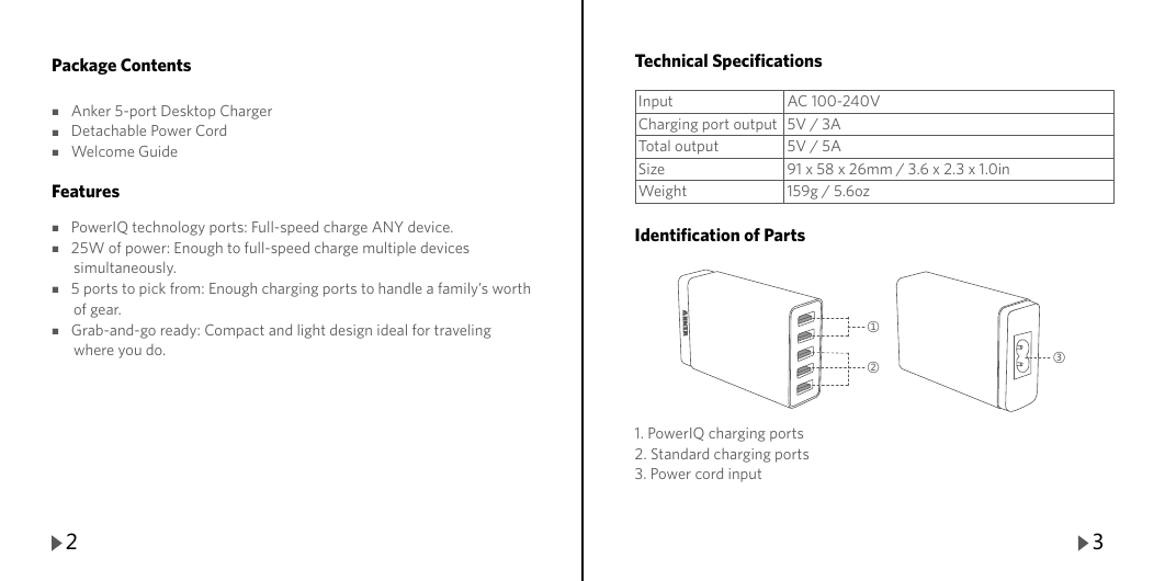 Anker Instruction Manual C209C22E5A6111F 71AN7111 W5A 7.17.2014
