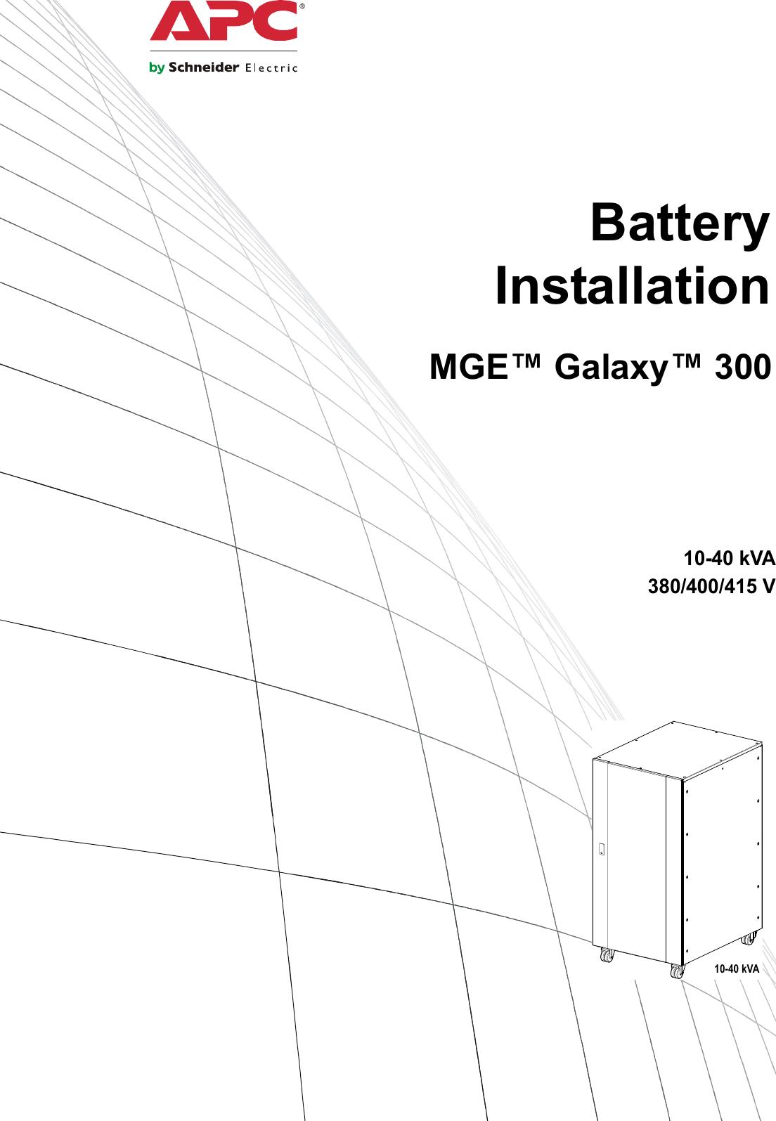 Apc Mge 300 Users Manual Ish 990 3617 15 Kva Ups Electrical Wiring Diagram