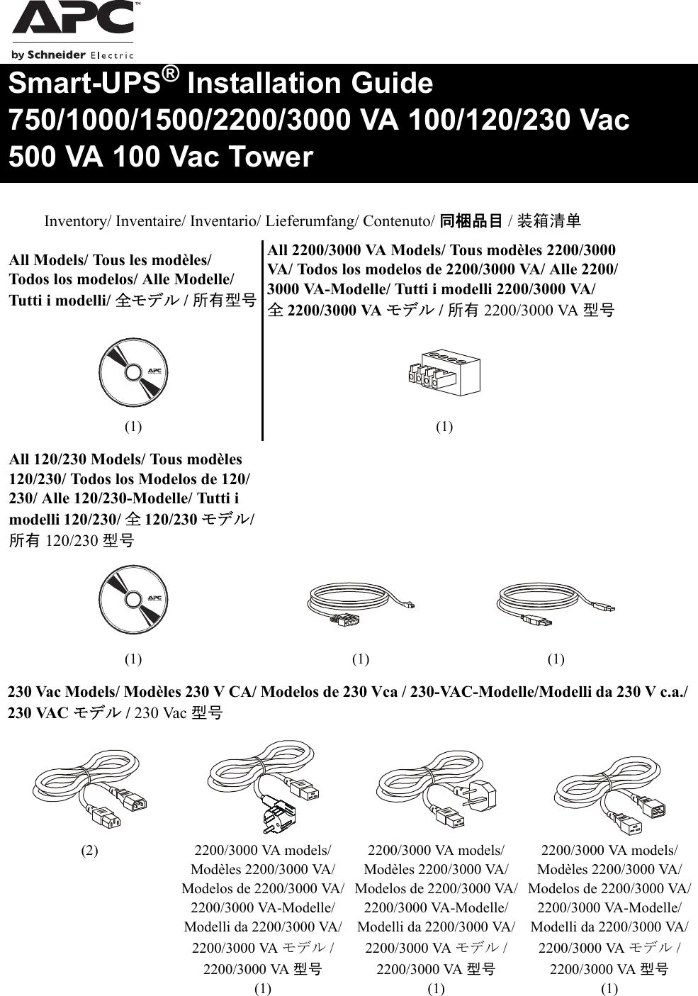 Apc Smart Ups 1000 Va Users Manual SU IQ 990 3535A MN01 Multi