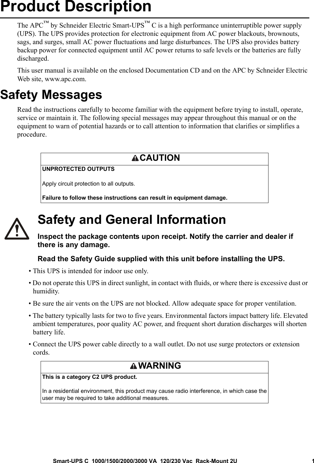 Apc Smc10002U Users Manual SU UM 990 5198 FC EN
