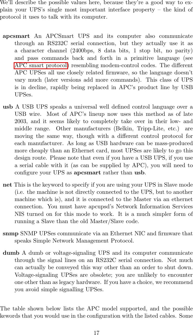 Apc Ups Control System Users Manual