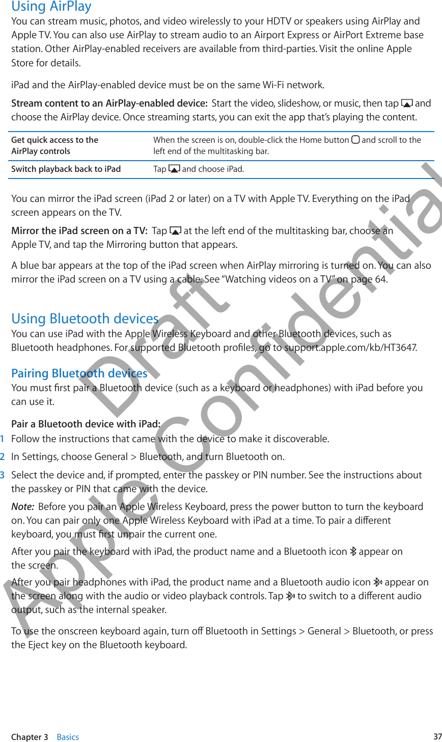 Apple A1432 Tablet Device User Manual Ipad User Guide