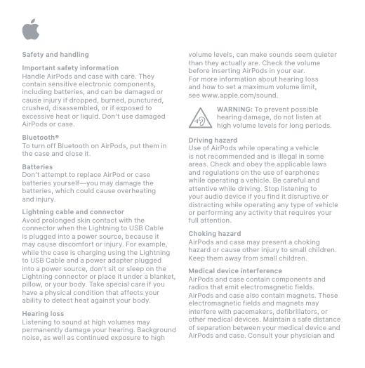 apple airpods 2 user manual pdf