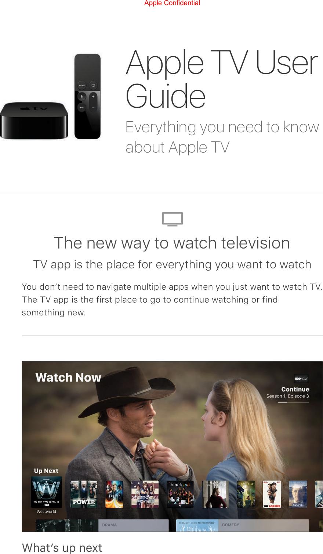 Apple tv 2 user manual get apple tv 4k today array apple a1842 apple tv 4k user manual apple tv user guide rh usermanual wiki fandeluxe Images