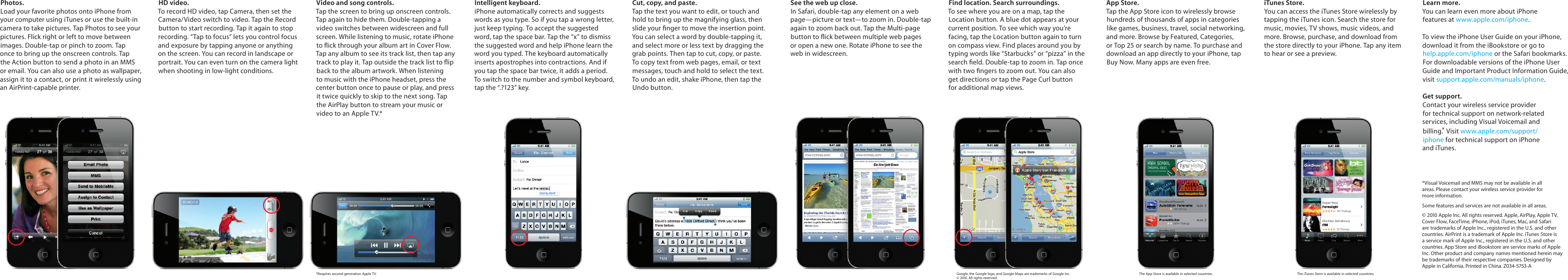 Page 2 of 2 - Apple Apple-Iphone-4-Quick-Start-