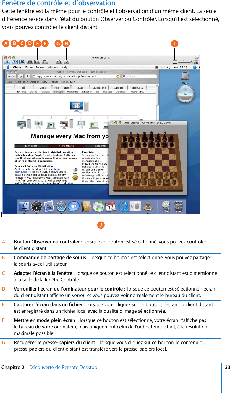 Apple AppleRemoteDesktop3 X Guide De L'administrateur D