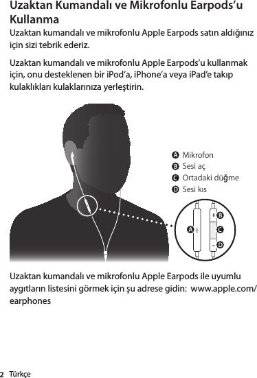 Apple earpods user manual