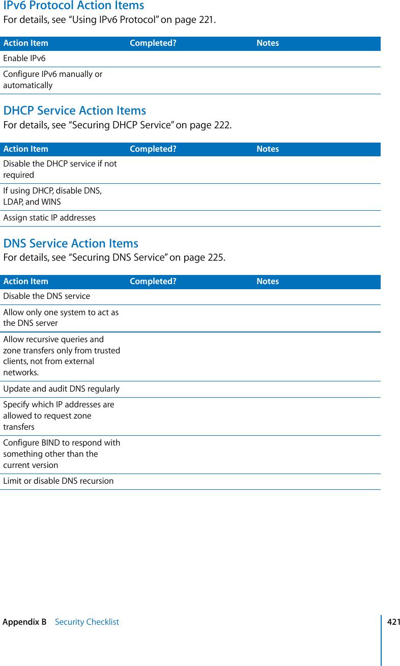 Apple Mac OS X Server Security Configuration User Manual V10