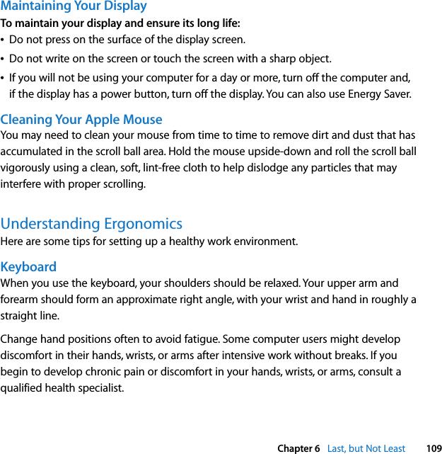 Apple MacPro(Early2009) Mac Pro User Guide Manual Pro
