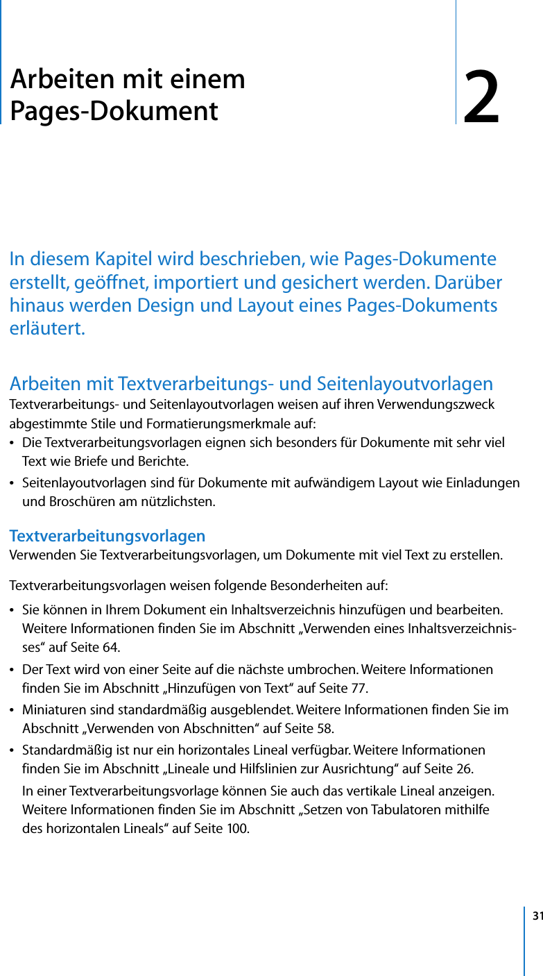 Apple Pages 08 Benutzerhandbuch User Manual 08 Pages08