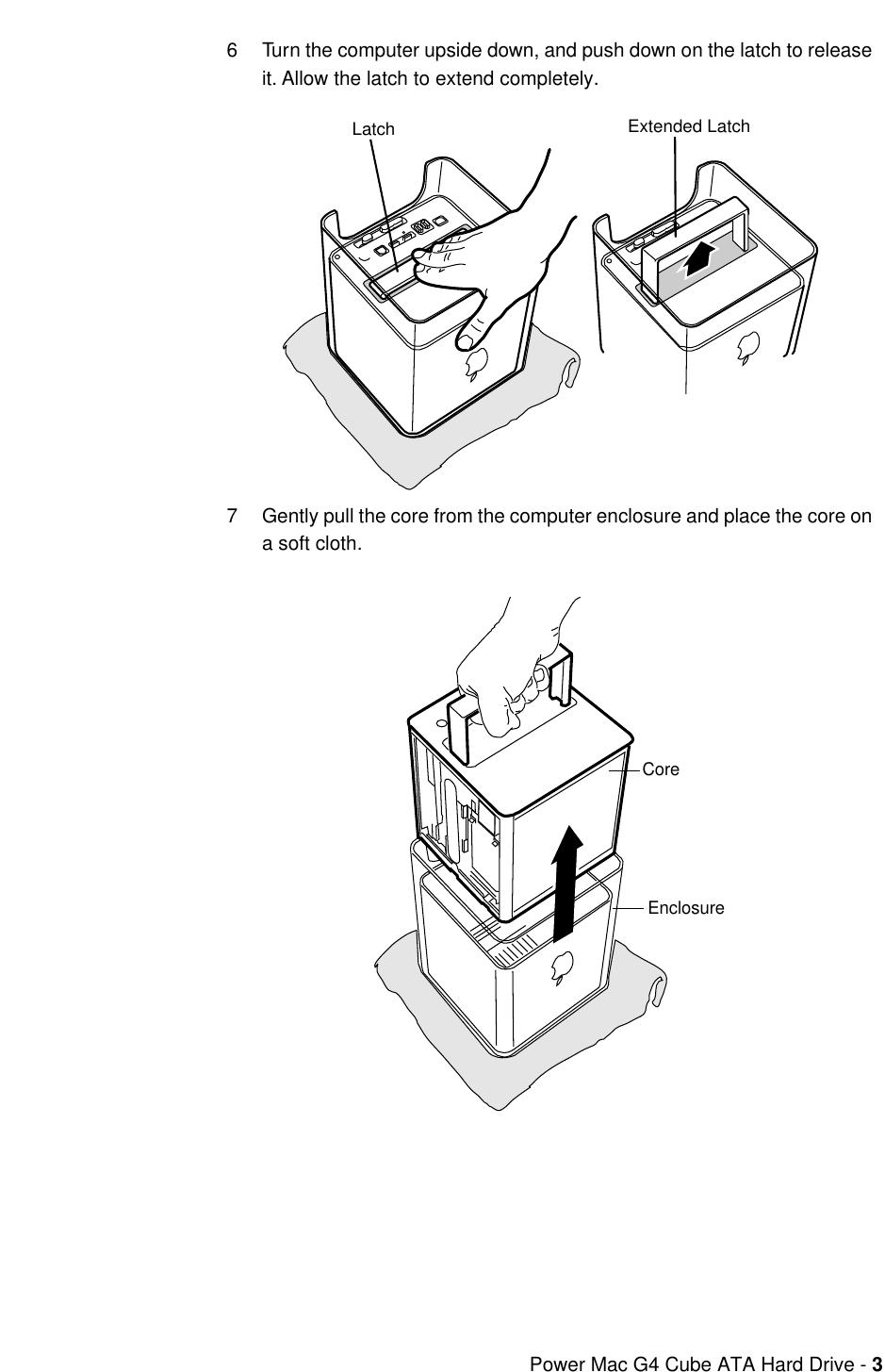 Apple PowerMacG4(Cube) User Manual Power Mac G4Cube ATAHard