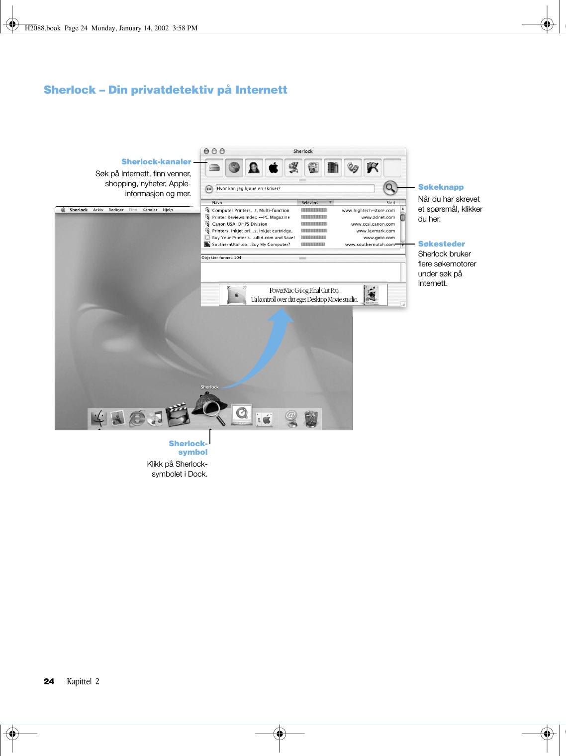 Apple PowerMacG4(QuickSilver) H2088 User Manual Power Mac G4
