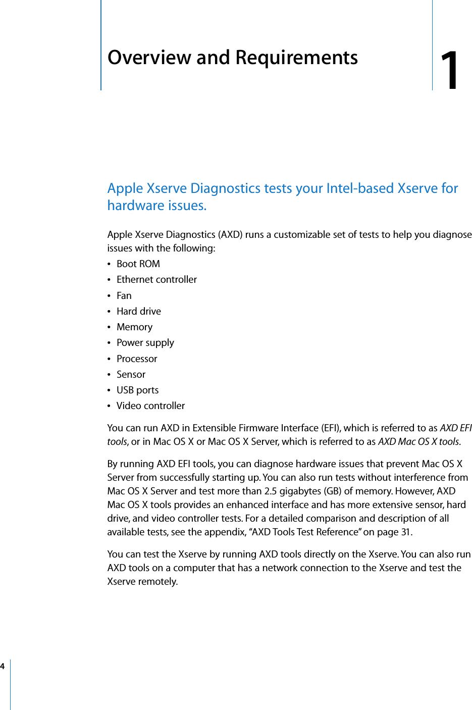 Apple Xserve (Late 2006) Diagnostics User's Guide User