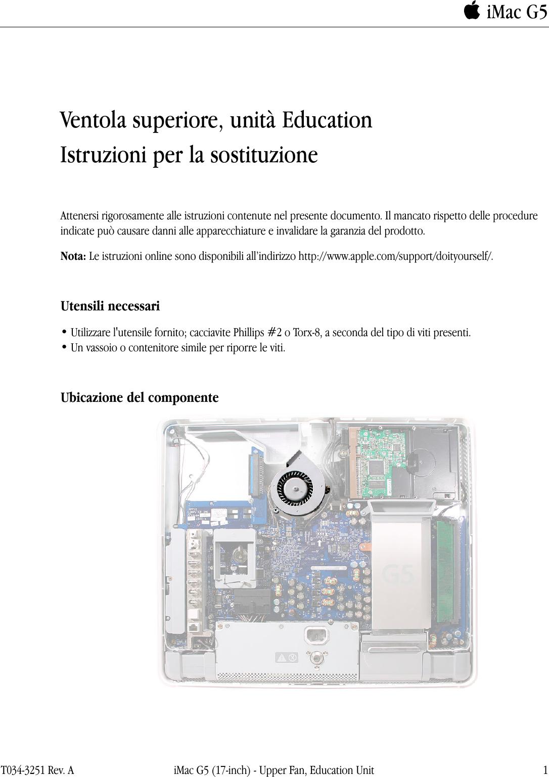 apple imac upper fan edu user manual i mac g5 17 inch no optical rh usermanual wiki iMac G3 imac g5 user manual