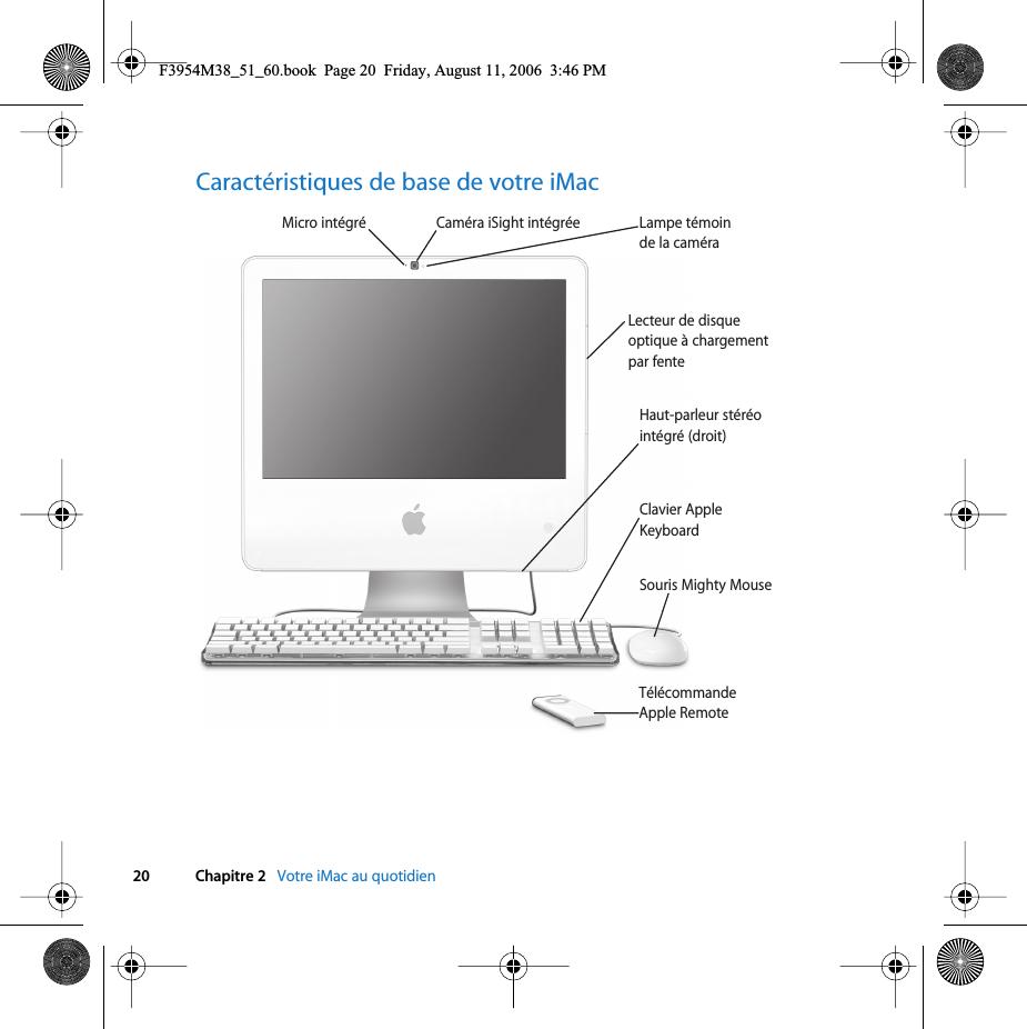 Brancher le magnétoscope à l'iMac