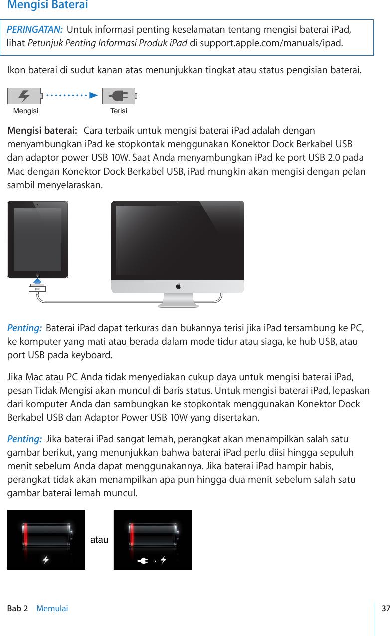 Apple Ipad 2 Petunjuk Pengguna User Manual I Pad Untuk Perangkat Lunak Os 4 3 Ipad2