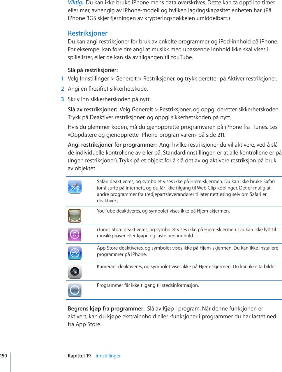 dde29ca04 Apple IPhone Brukerhåndbok User Manual I Phone (for OS 3.1 ...