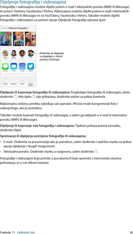 Apple IPhone 4 Upute Za Uporabu User Manual I Phone (Za