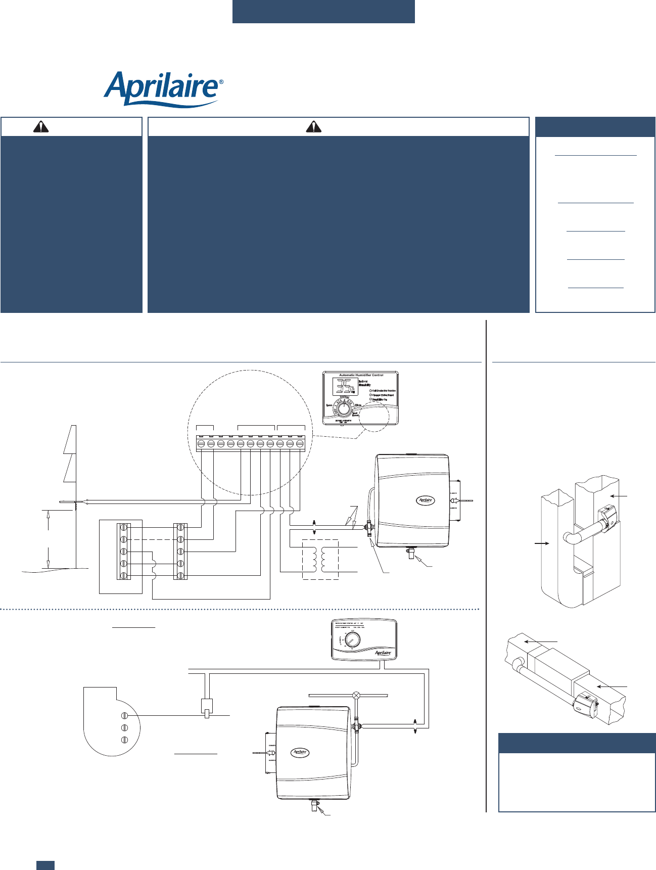 [SCHEMATICS_4UK]  Aprilaire Humidifier 600M Users Manual 10008975A AA 600 | Aprilaire 600a Wiring Diagram |  | UserManual.wiki