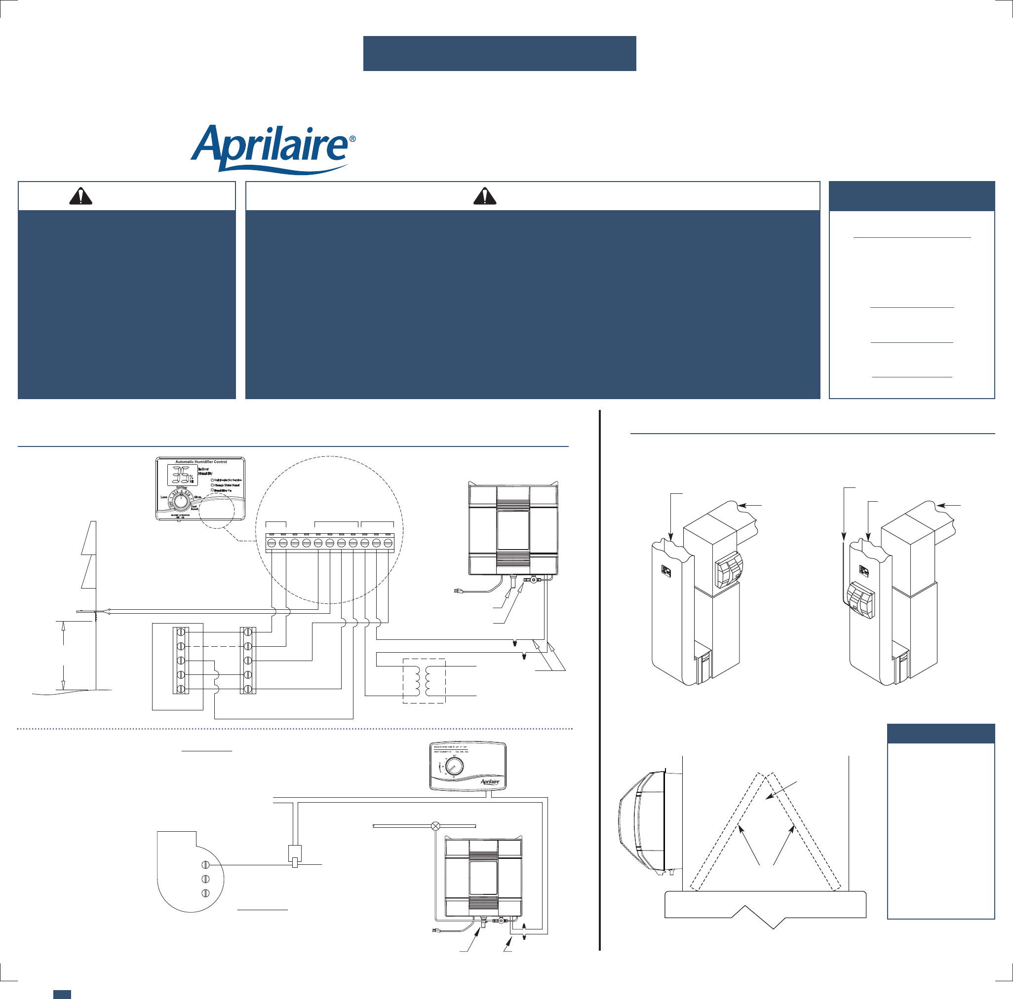 [DHAV_9290]  Aprilaire Humidifier 700 Users Manual 10008976A AA | Aprilaire Current Sensing Relay Wiring Diagram |  | UserManual.wiki