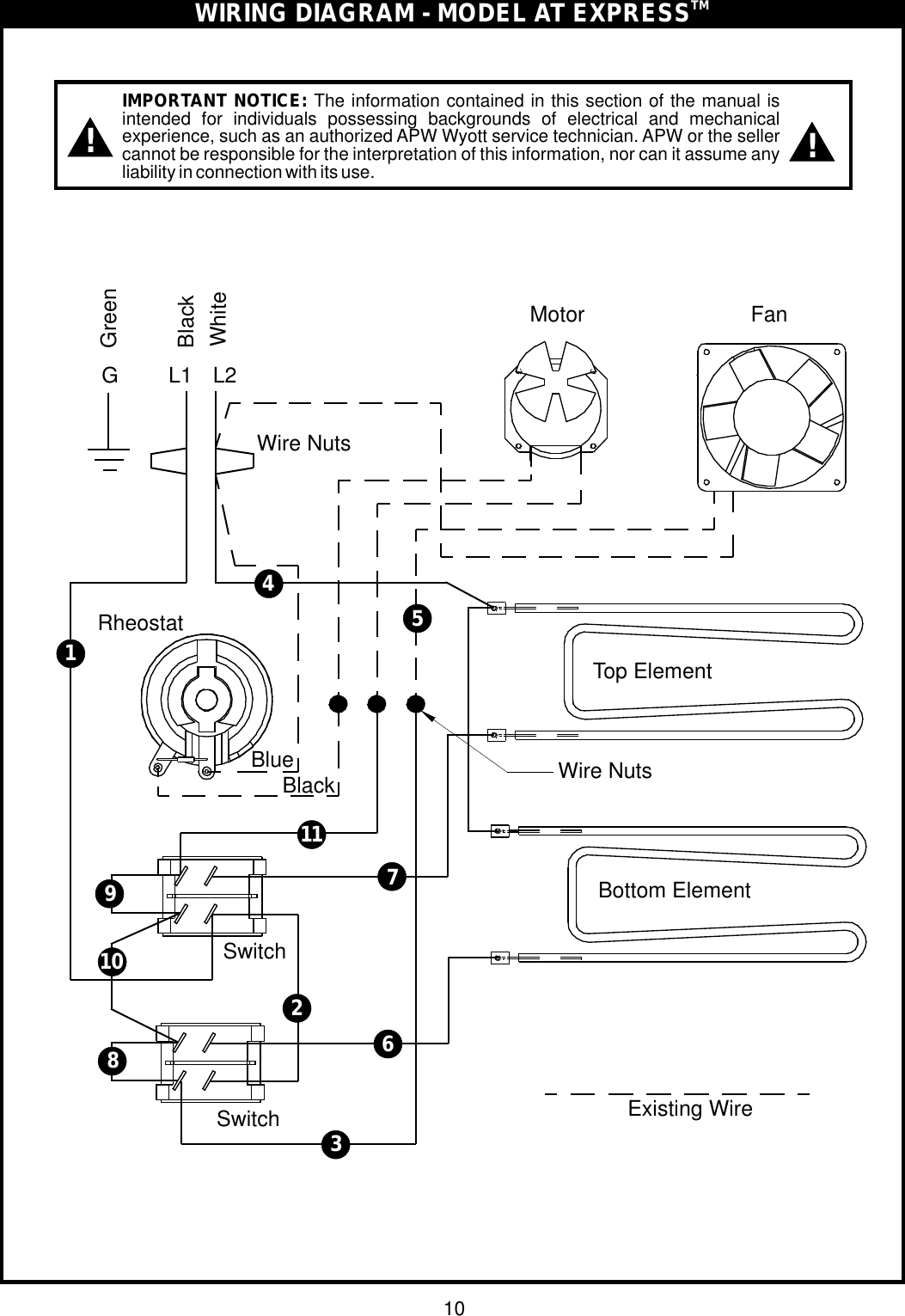Apw Wyott Wiring Diagrams Trusted Wiring Diagram - Apw wyott steam table