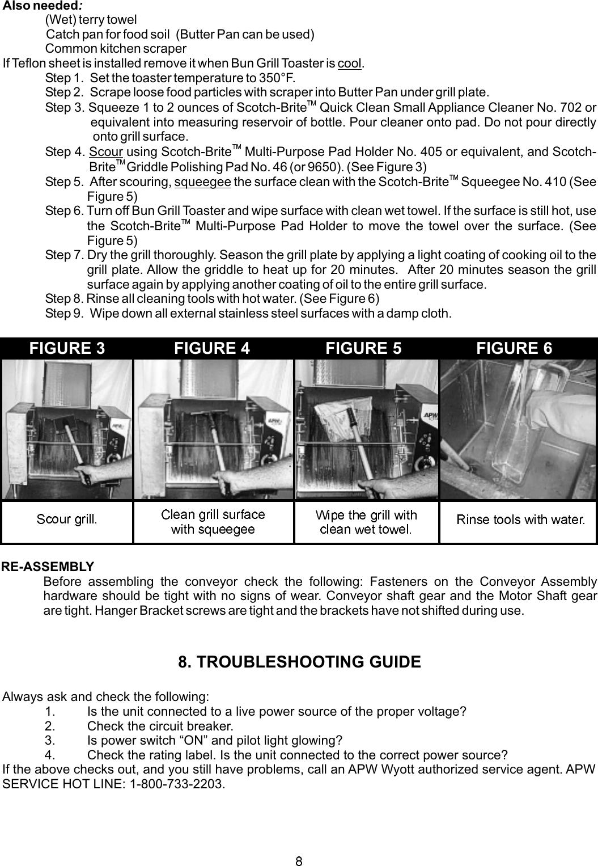 Apw Wyott M95 2 Jib Users Manual A Wiring Diagram Page 8 Of 12