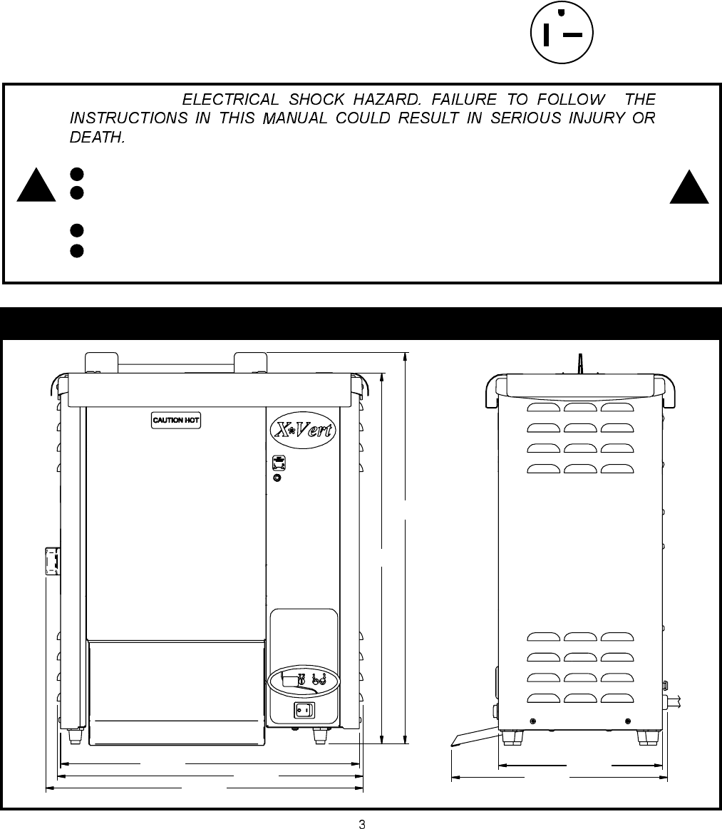 Apw Wyott Vsx Users Manual Wiring Diagram For Toaster 3 Specifications