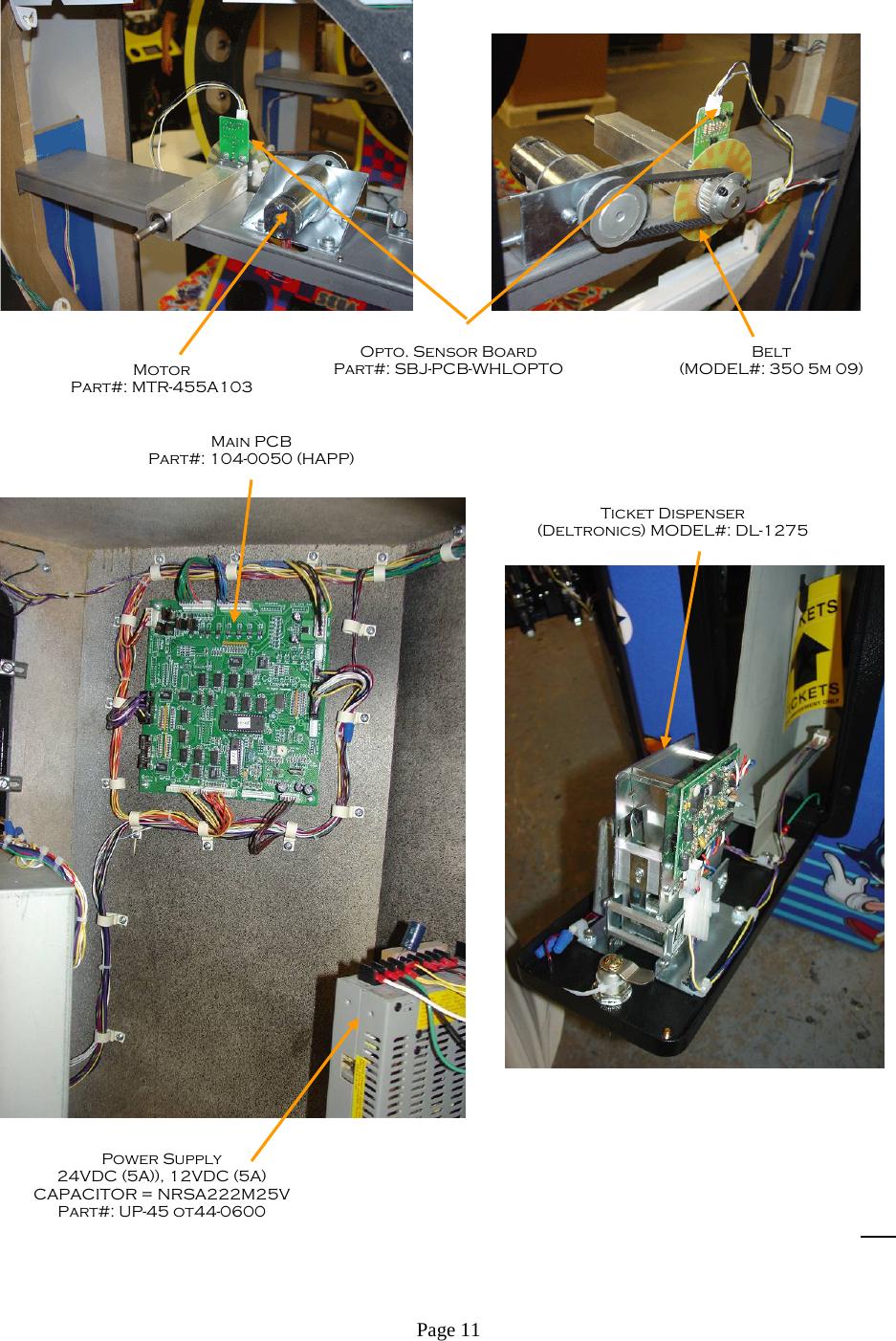 Arcade Sonic Spinner Manual 0621907 07 _Non CEC Ver_ User