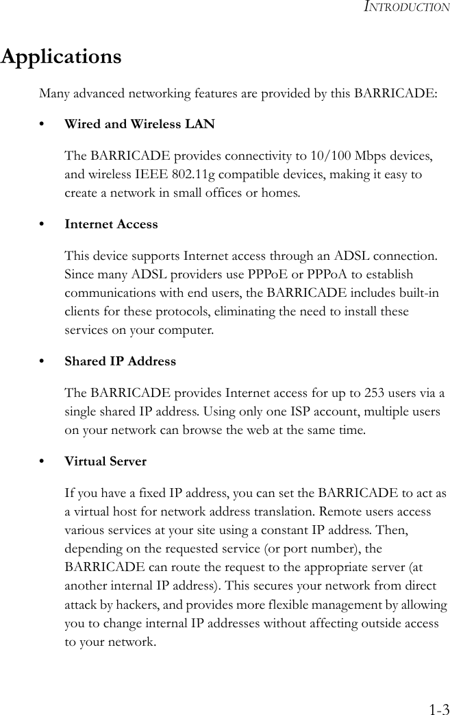 Arcadyan Technology WG4005E1 BARRICADE TM g 108Mbps WIRELESS