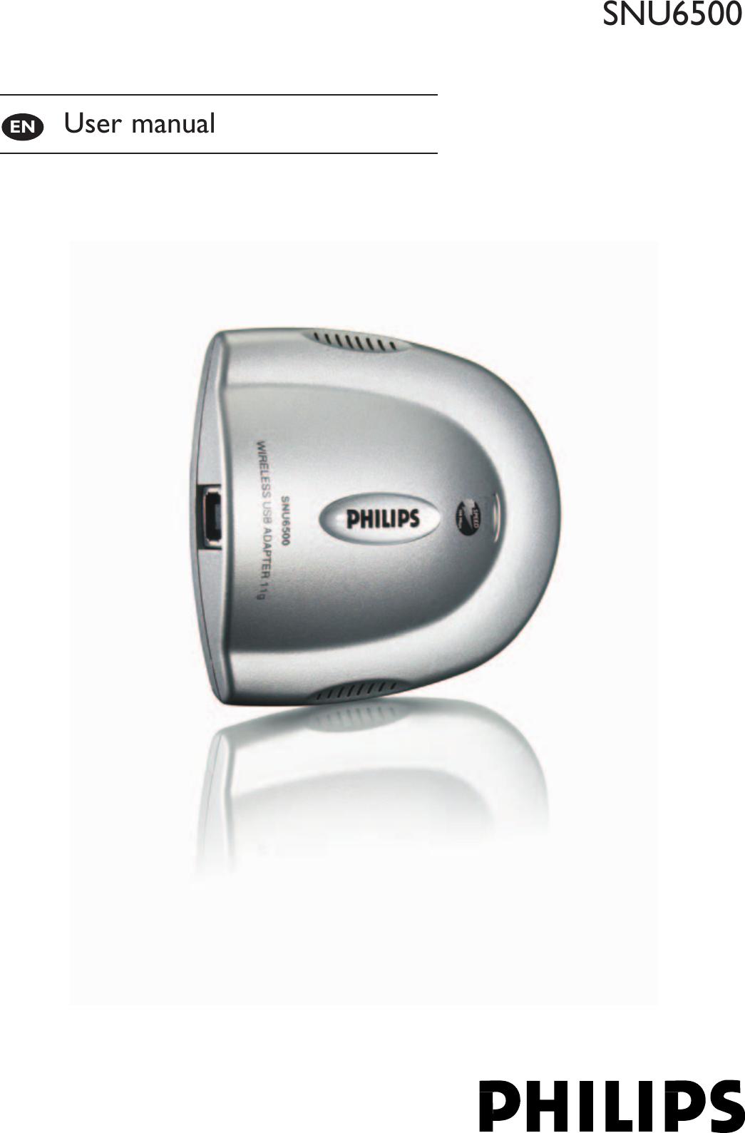 Arcadyan Technology WN4501M WIRELESS USB ADAPTER 11g User