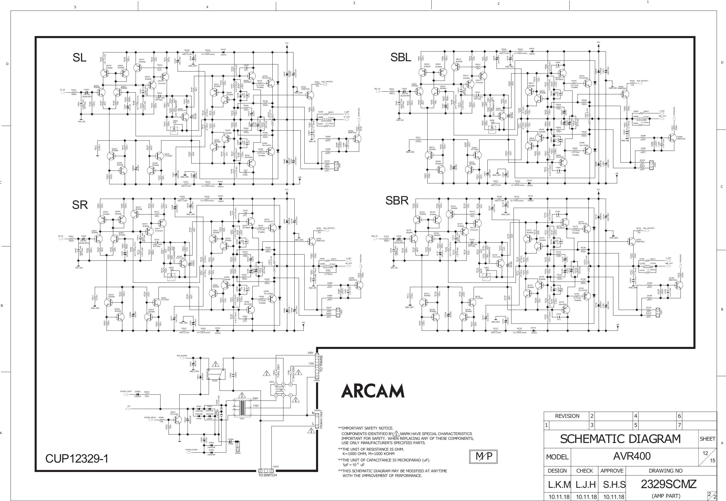 Arcam AVR400 User Manual To The Eca3ebcc 43fb 451b bb2c