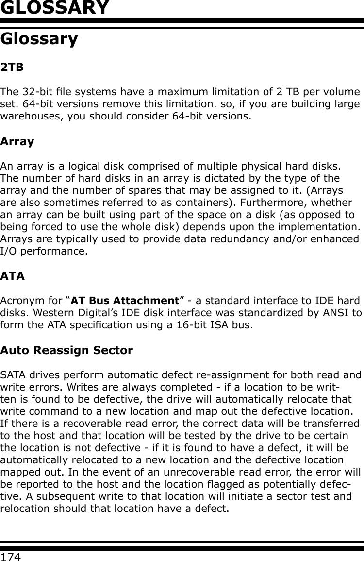Areca Arc 1120 Users Manual