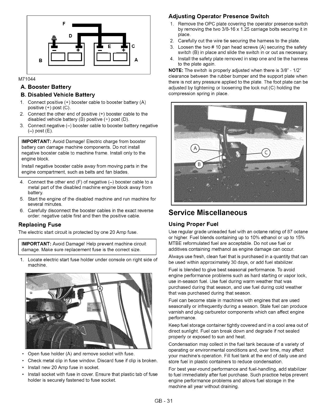 Ariens 99480600 101 999999 User Manual Zero Turn Mower Manuals And Fiat Grande Punto Fuse Box Glove Compartment C