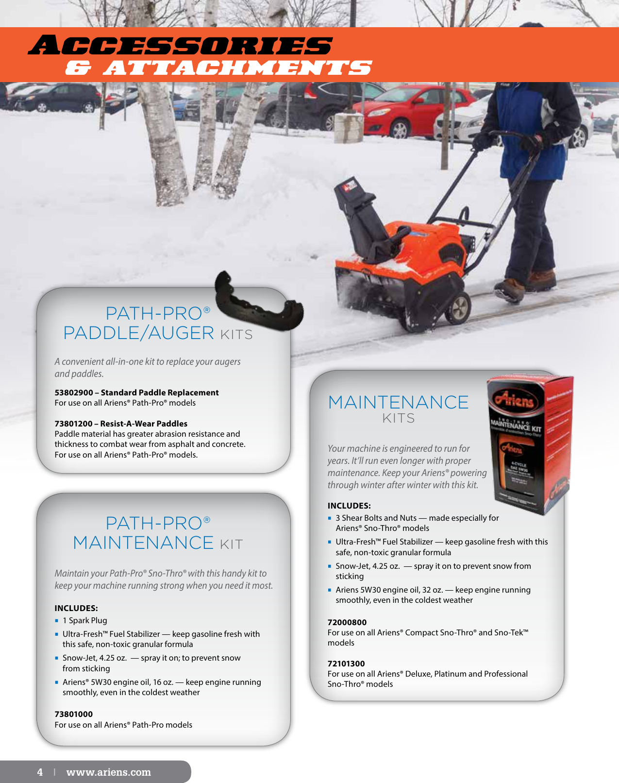 Ariens Power Brushes Parts And Accessories Guide