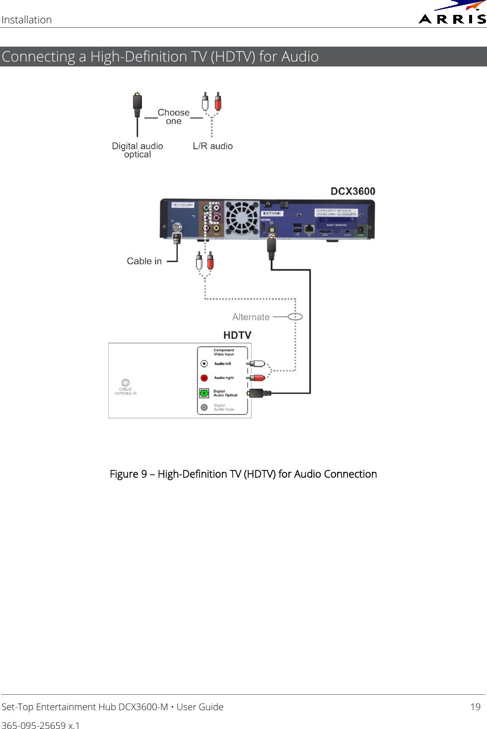 Arris DCX3600 Set Top Entertainment Hub User Manual DCX3600: Guide