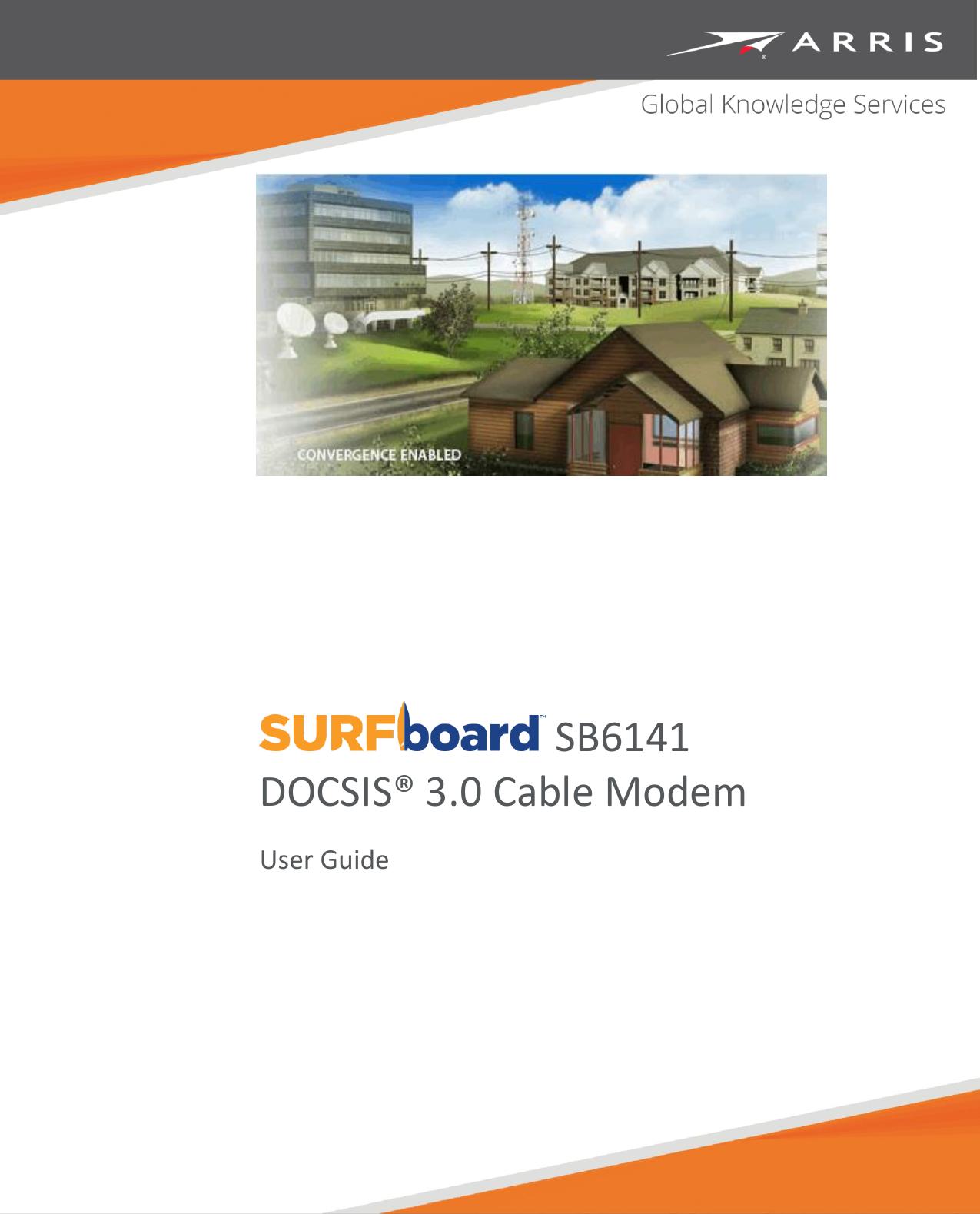 Arris Sb6141 User Guide Manual Sb6141