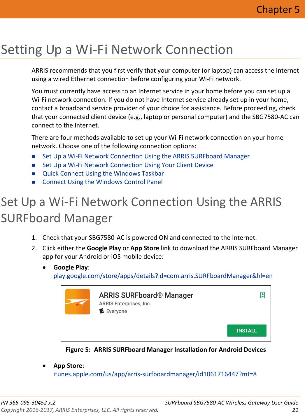 Arris SBG7580 AC McAfee User Guide Manual With Mc Afee App: SBG7580AC