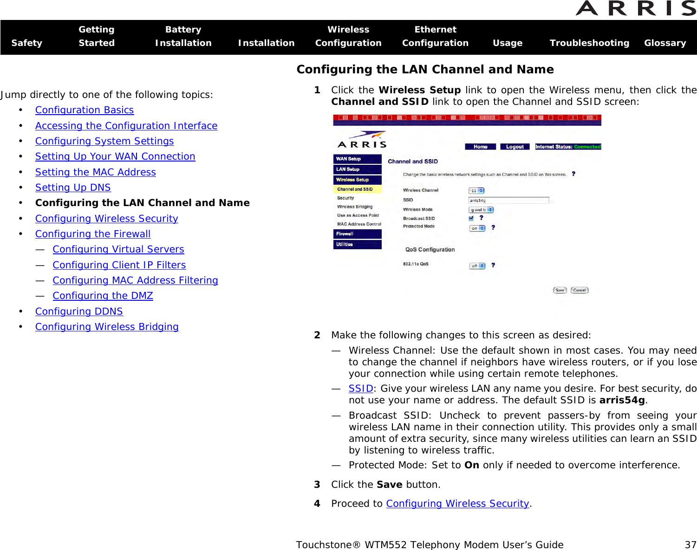Arris WTM552 TM552_User_Guide User Manual WTM552: Guide