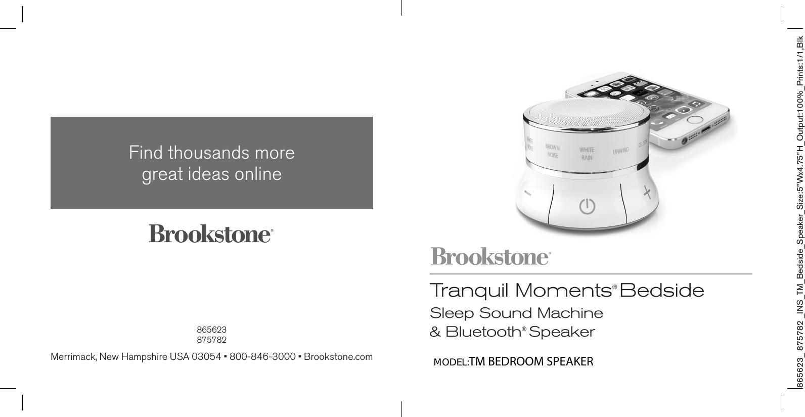 Arts Electronics Tm865623 Sleep Sound Machine Amp Bluetooth