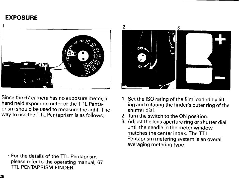 Asahi Pentax 67 Operating Manual