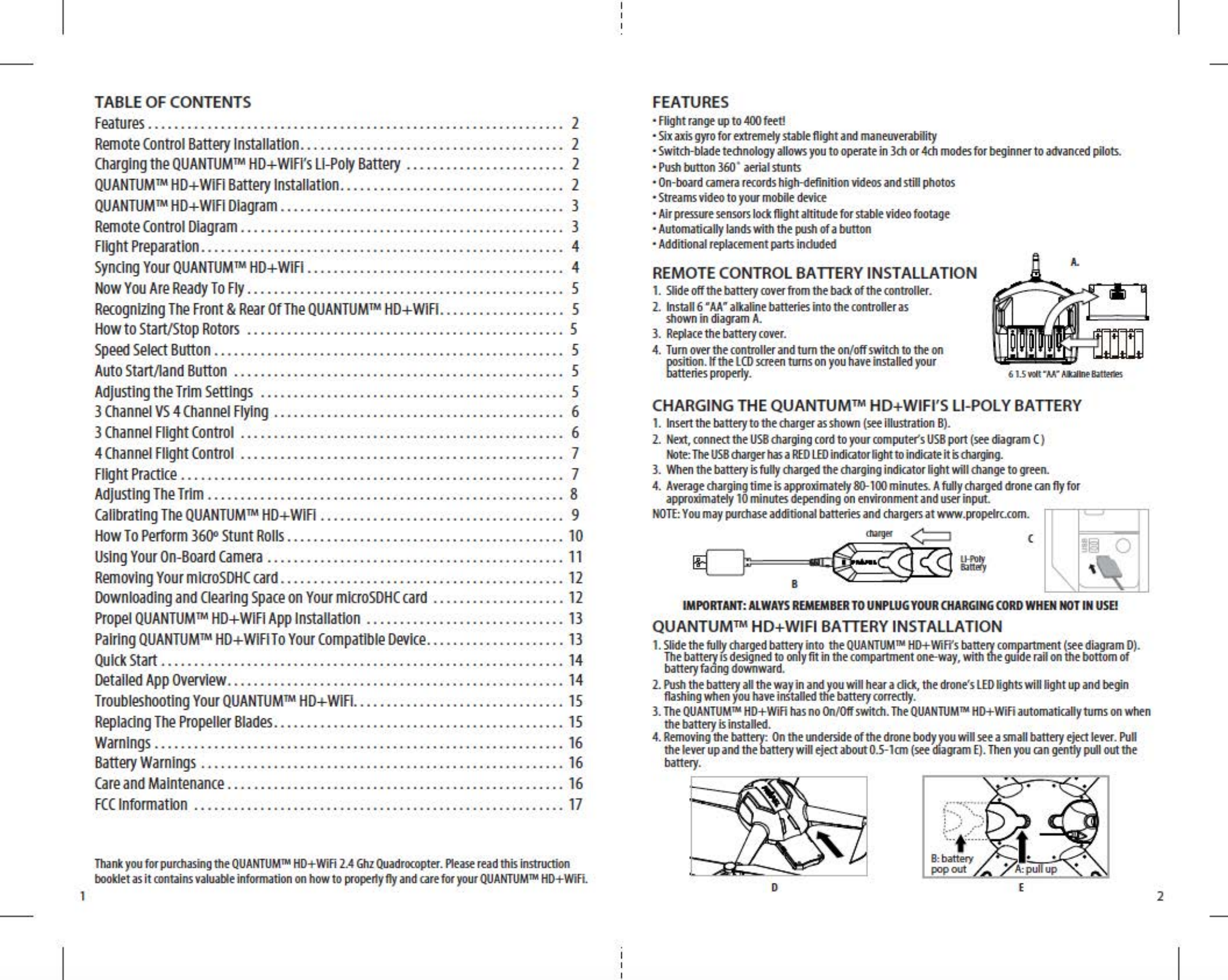 Asian Express Pl 1750r Hd Video Drone Quantum Wifi Alkaline Battery Diagram User Manual