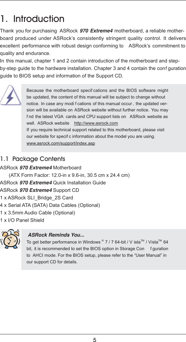 Asrock 970 Extreme4 Owner S Manual Extreme4_UM