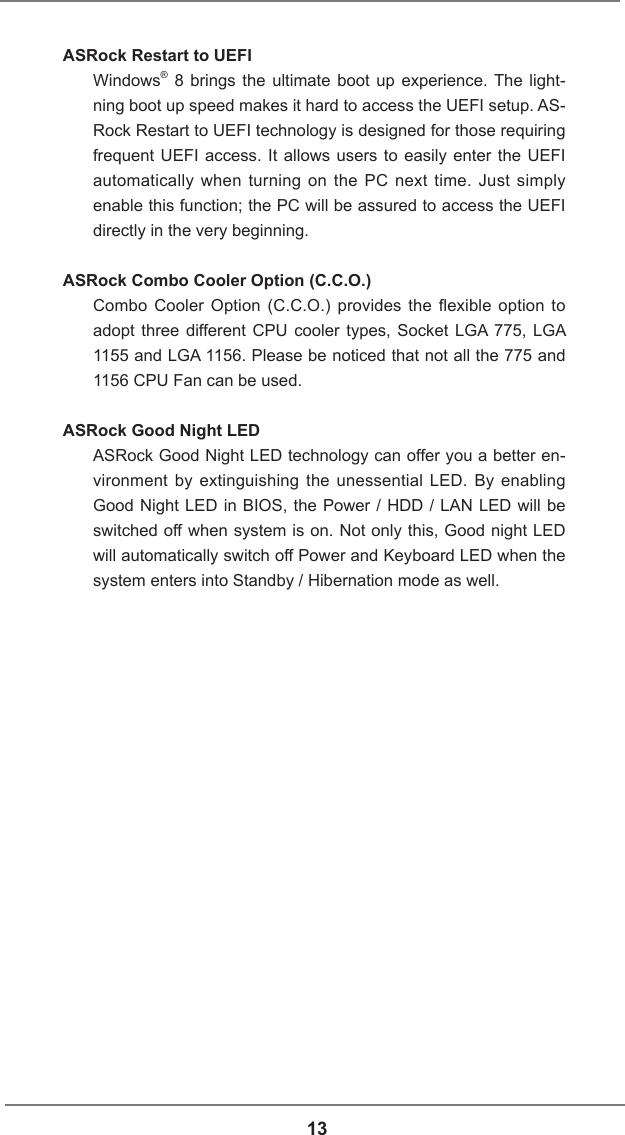 Asrock H61M Vg4 Owner S Manual
