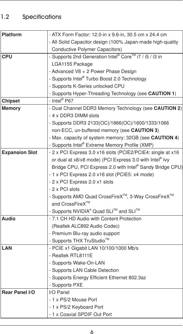Asrock P67 Extreme4 Gen3 Owner S Manual Gen3_UM