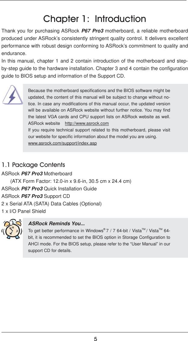 Asrock P67 Pro3 Owner S Manual Pro3_UM