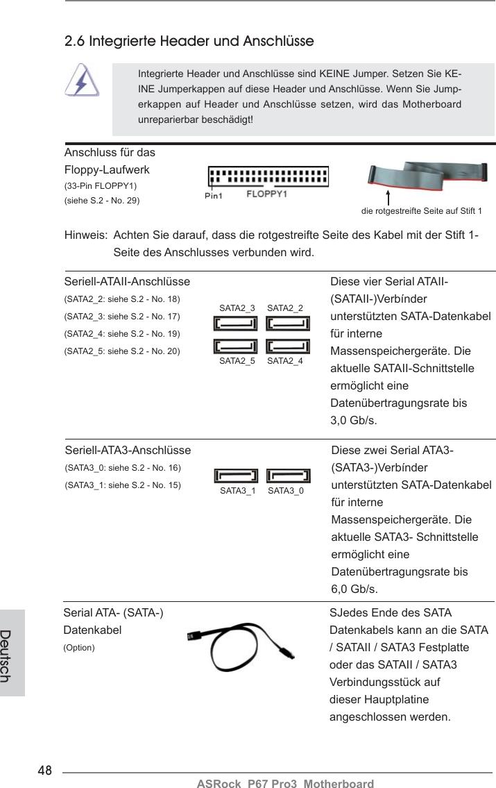 Asrock P67 Pro3 Quick Start Guide Pro3_QIG_ASR