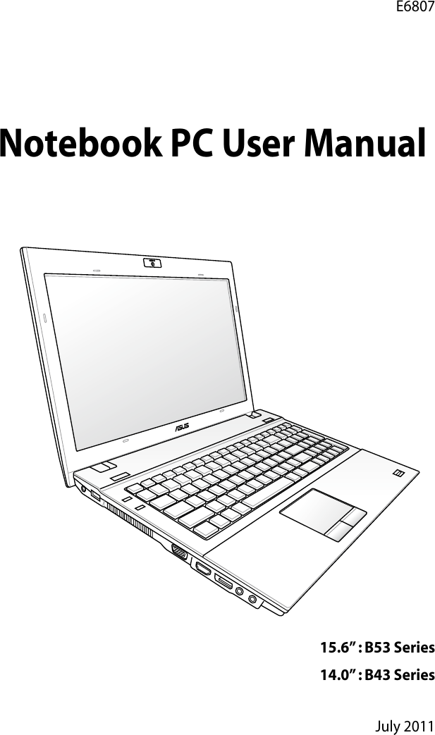 ASUS B43S NOTEBOOK BOOT DRIVER (2019)