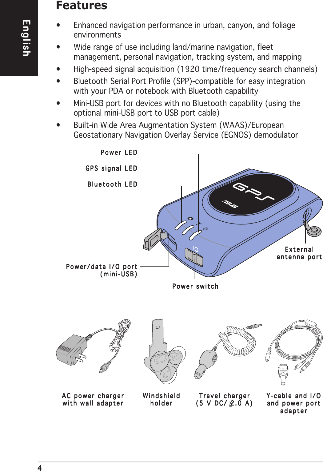 Asus Gps Bt100 Users Manual Usb Cable Wiring Diagram Page 4 Of 10