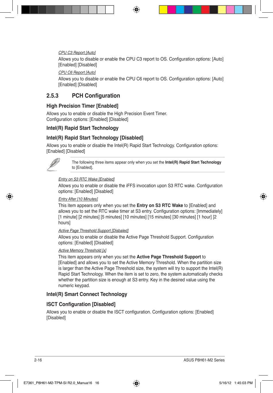 Asus Motherboard P8H61 M2 Users Manual