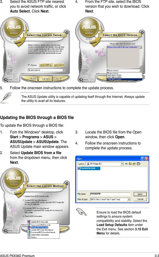 Asus P6X58D Premium Owner S Manual